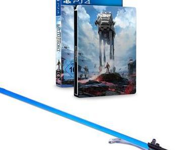 Online-Händler bietet PS4 Lichtschwert-Bundle inkl. Star Wars: Battlefront an