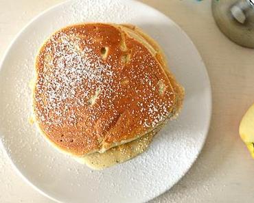 Herbstliche Apple Pancakes mit Zimt