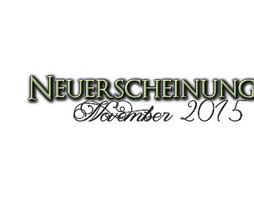 [Neuerscheinungen] November 2015 (Teil 3)