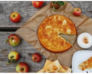 Torta di mele - Toskanischer Apfelkuchen {Ein schneller Dessertkuchen mit wenig Teig und viel Frucht!}