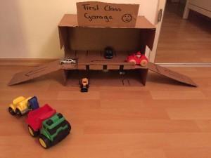 DIY: Kostengünstig und einfach zum Matchbox Parkhaus