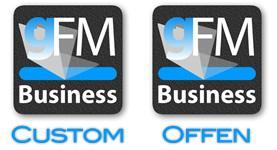 Customizing nach Maß mit der gFM-Business Softwarelinie.
