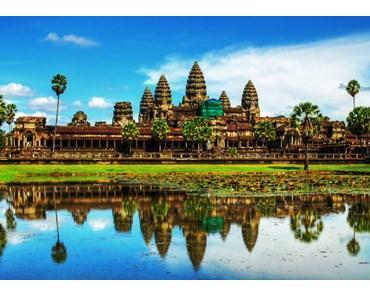 Die heiligen Tempel in Siem Reap