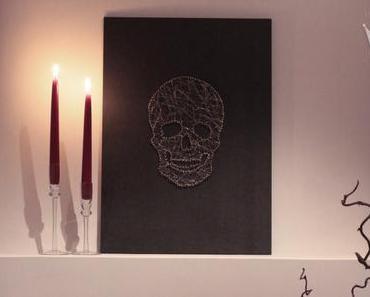 Halloween – DIY Skull Head Portrait