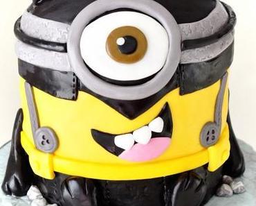 Minions Torte - Batman Stuart in 3 D