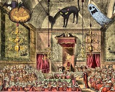 Halloween im britischen Parlament