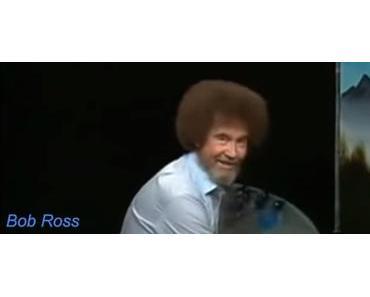 Malen mit Bob Ross auf Twitch