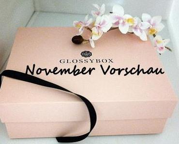 Vorschau Glossybox November 2015 - Goldene 20er Edition