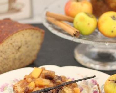 Eiweißbrot mit Bratapfelmarmelade