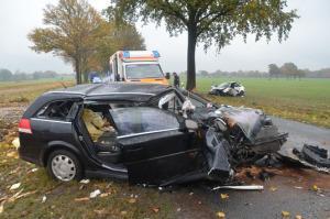 Schwerer Verkehrsunfall Hesedorf