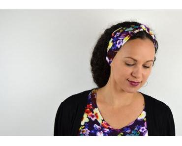 DIY Turban Haarband nähen