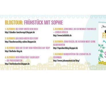 """[ANKÜNDIGUNG] BLOGTOUR zu """"Frühstück mit Sophie"""""""