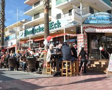 Alaaf und Helau an der Playa de Palma
