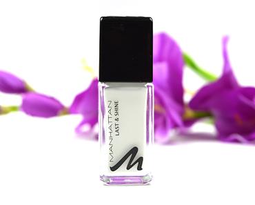 [NEU] Review: Manhattan Last & Shine Nagellack Nuance 010 Paint it white