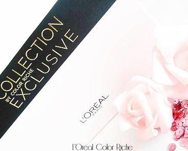 Loreal Paris - COLOR RICHE COLLECTION EXCLUSIVE DELICATE ROSÉ - Lippen / Nägel