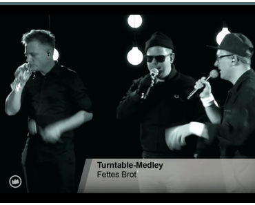 Fettes Brot – Turntable-Medley (1LIVE Krone Session)