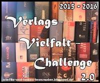 [Verlags-Vielfalt-Challenge] 2. Monat - Lesefortschritt (15.10.-14.11.2015)