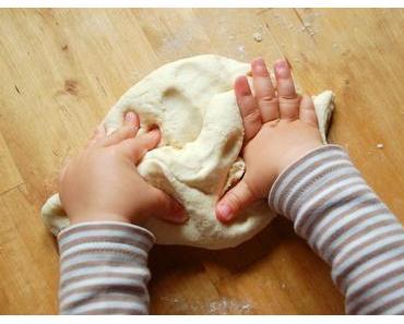 Salzteig basteln mit Kindern