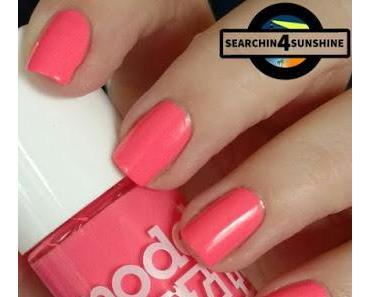 [Nails] #nailsreloadedchallenge - dreifarbig  & Lacke in Farbe ... und bunt! KORALLE mit models own NP128 Shades
