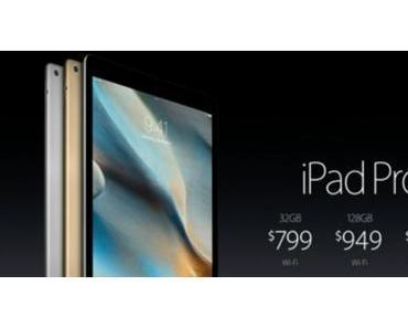 iPad Pro kann beim Aufladen einfrieren