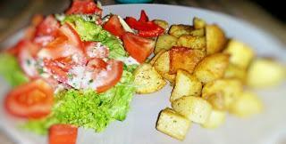 Was koche ich denn heute leckeres veganes? Ofenkartoffeln!