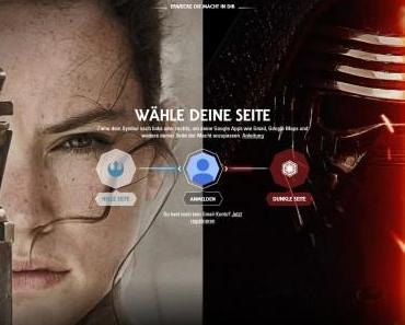 Star Wars Google Apps im Look der Saga