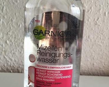 Mizellen Gesichtswasser im Live Test - Garnier vs. Balea