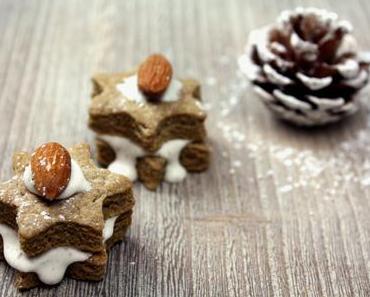 Lebkuchen-Kekse mit Kardamomglasur und Marc von bake to the roots