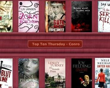 Top Ten Thursday #236