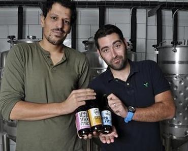 """Prost! Le Chaim! Erster """"Collaboration Brew"""" zwischen deutscher und israelischer Craftbeer-Brauerei"""