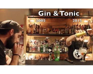 Gin Tonic auf die klassische und höchst wissenschafliche Art gemixt