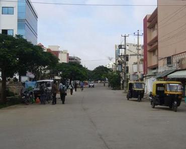 Studienaufenthalt in Indien 2009 – Erste Tage in Bangalore