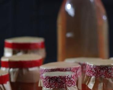 Quittengelee und weihnachtliche Apfel-Quitten-Marmelade