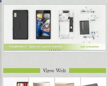 Vireo.de mit neuem Gesicht
