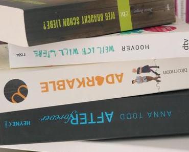 Bücher, die man einfach lesen muss! (Gastpost von Marie) ♥