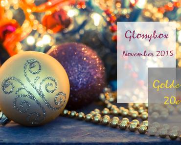 """Glossybox November 2015 - """"Goldene 20er"""""""