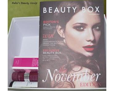 Lookfantastic Box November: