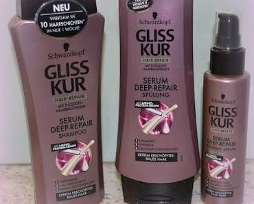 Reviews: Gliss Kur - Serum Deep Repair Serie