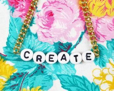DIY Armband mit Buchstaben – Freundschaftsarmband mit Namen selbst machen