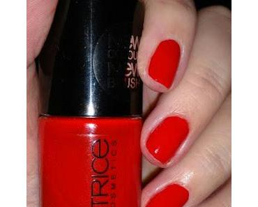 [Nails] Lacke in Farbe ... und bunt! HELLROT mit CATRICE 690 Fred Said Red