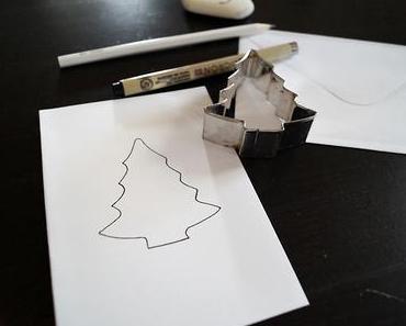 DIY – Einfache Weihnachtskarten