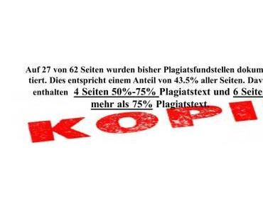 Farbe bekennen, Frau von der Leyen – Gleiches Recht für alle Plagiateure: Rücktritt!