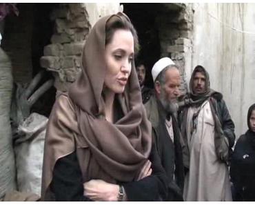 Angelina Jolie besuchte libysche Flüchtlinge