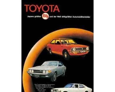 Toyota Deutschland feiert seinen 40igsten Geburtstag