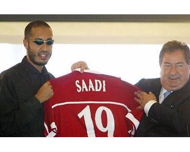 Gaddafi in der Champions League