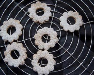 Glutenfree Mandel Cookies Linzer-Plätzchen