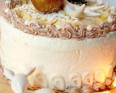 Fröhliche Weihnachten! ...mit Festtagstorte & einem Blick in die Weihnachtsbäckerei bei Der Mann Bäckerei!