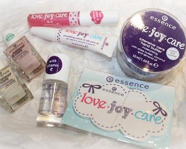 Nagelpflege mit love.joy.care Trende Edition von essence