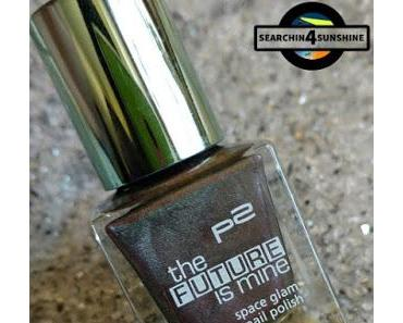 [Nails] Specialties mit p2 the FUTURE is mine space glam nail polish 040 solar eclipse