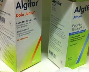 Algifor-Sirup (Oder: worüber man sich natürlich auch aufregen kann)